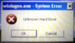 Unknownharderror